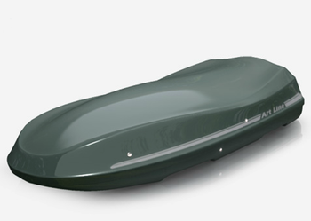 Bagażnik dachowy JOST Moby Dick szary