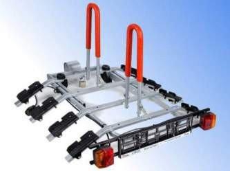Bagażnik rowerowy - platforma AMOS Tytan cztery rowery